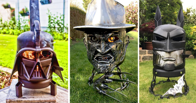 Themed Wood Burners And Fire Pits