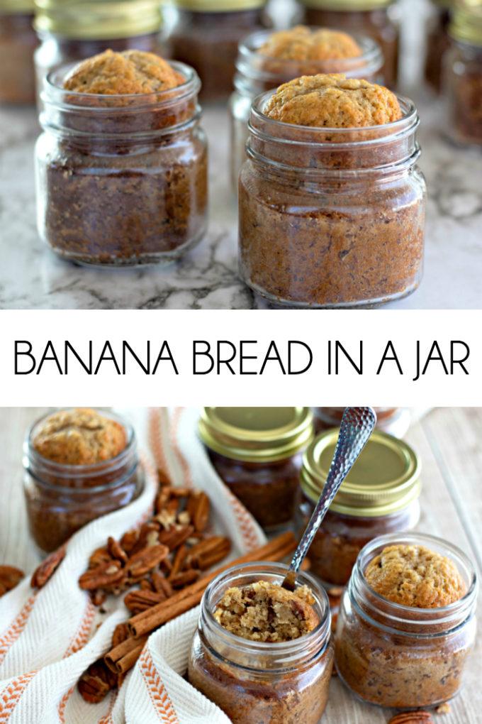 Banana Bread in a Jar