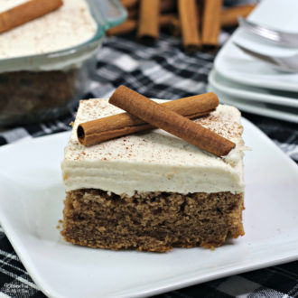 Cinnamon Crazy Cake - or some call it Crazy Cake - is a delicious dessert with zero eggs, milk or butter.