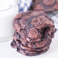Chocolate Flourless Cookies