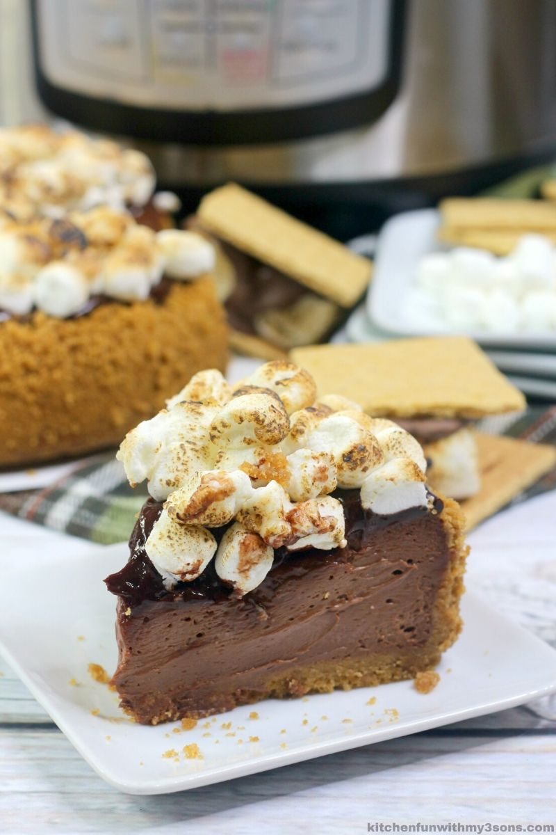 Instant Pot S'Mores Cheesecake