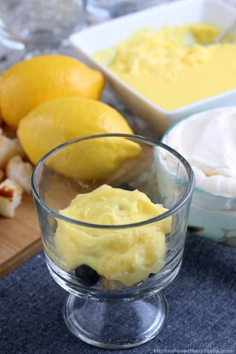 Lemon Blueberry Trifle Recipe