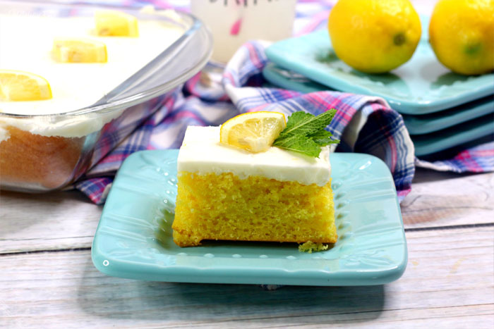 Lemon Crazy Cake is the wacky recipe that tastes great but has absolutely no eggs, no milk and no butter! This recipe adds the fun flavor of lemon, too.