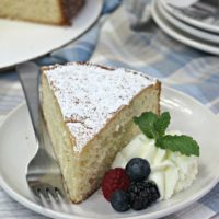 Old Fashioned Tea Cake Recipe