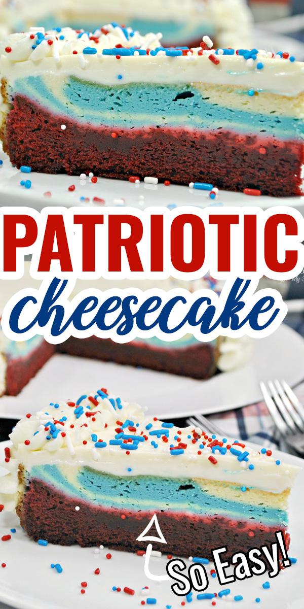 Patriotic Cheesecake Recipe