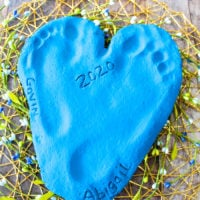 Salt Dough Recipe for Keepsakes