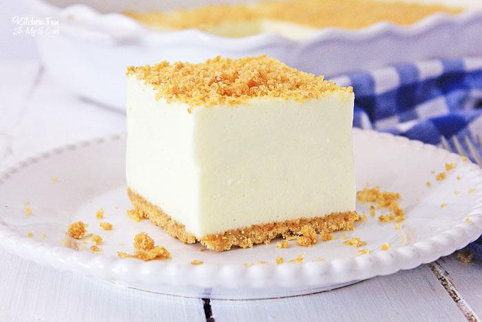 No-Bake Classic Woolworth Cheesecake
