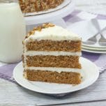 Carrot Cake with Nuts