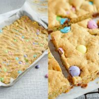 Easter Cookie Bars