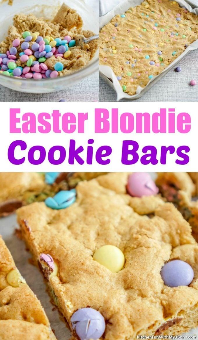 Easter Blondie Cookie Bars