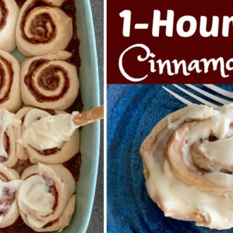 1-Hour Easy Cinnamon Rolls