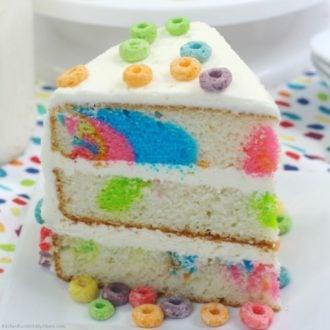 Fruit Loop Cake