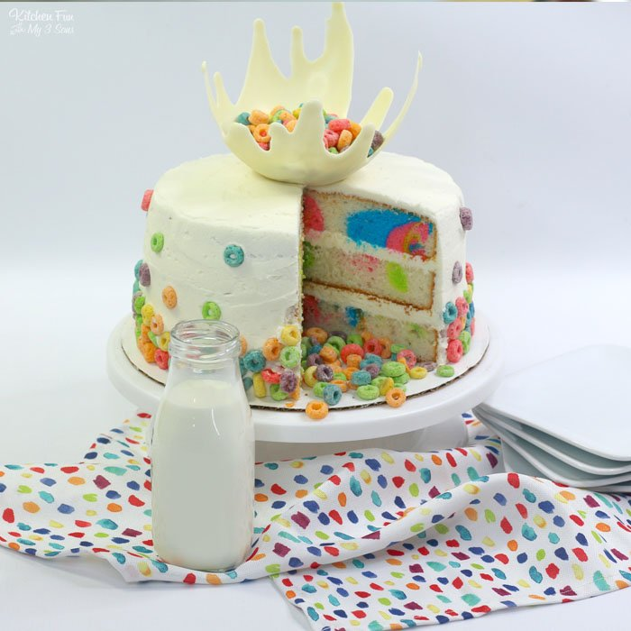 Fruit Loop Cake