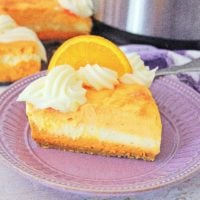 Instant Pot Creamsicle Cheesecake