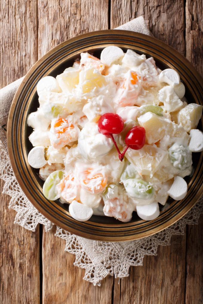 Marshmallow Fruit Salad