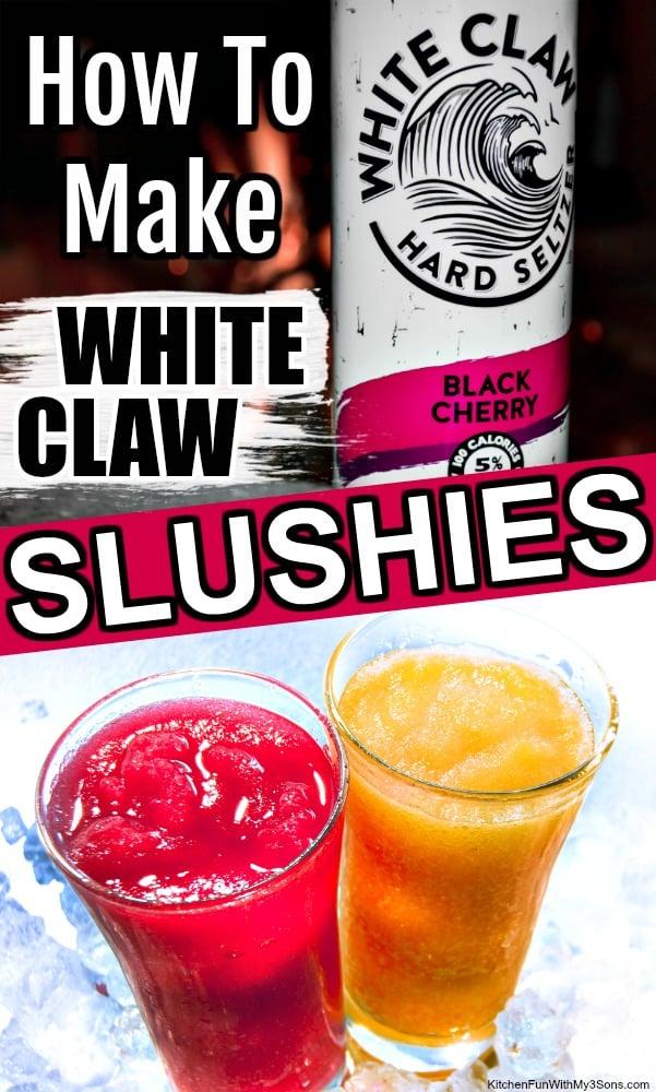 White Claw Slushies