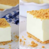 No-Bake Woolworth Cheesecake