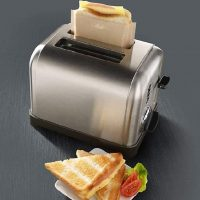 Toaster Bags for Grilled Cheese and More!