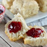 Butter Dipped Biscuits