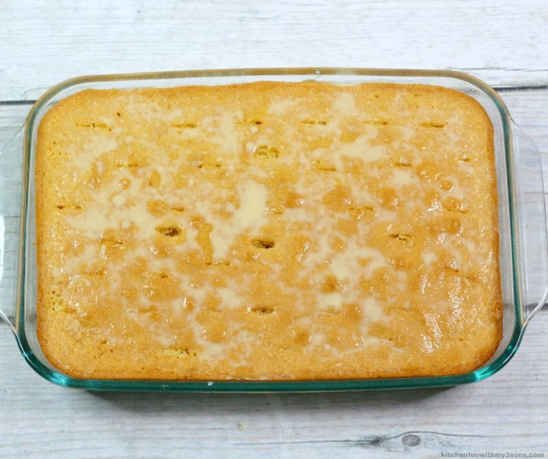 cake with holes