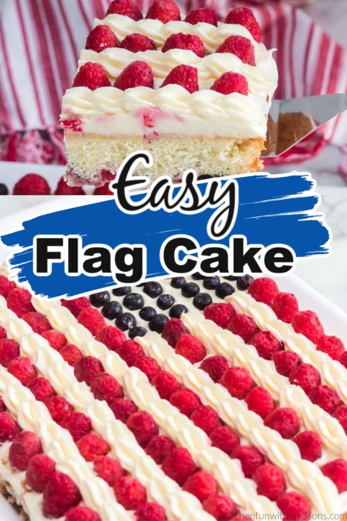 easy flag cake pinterest picture