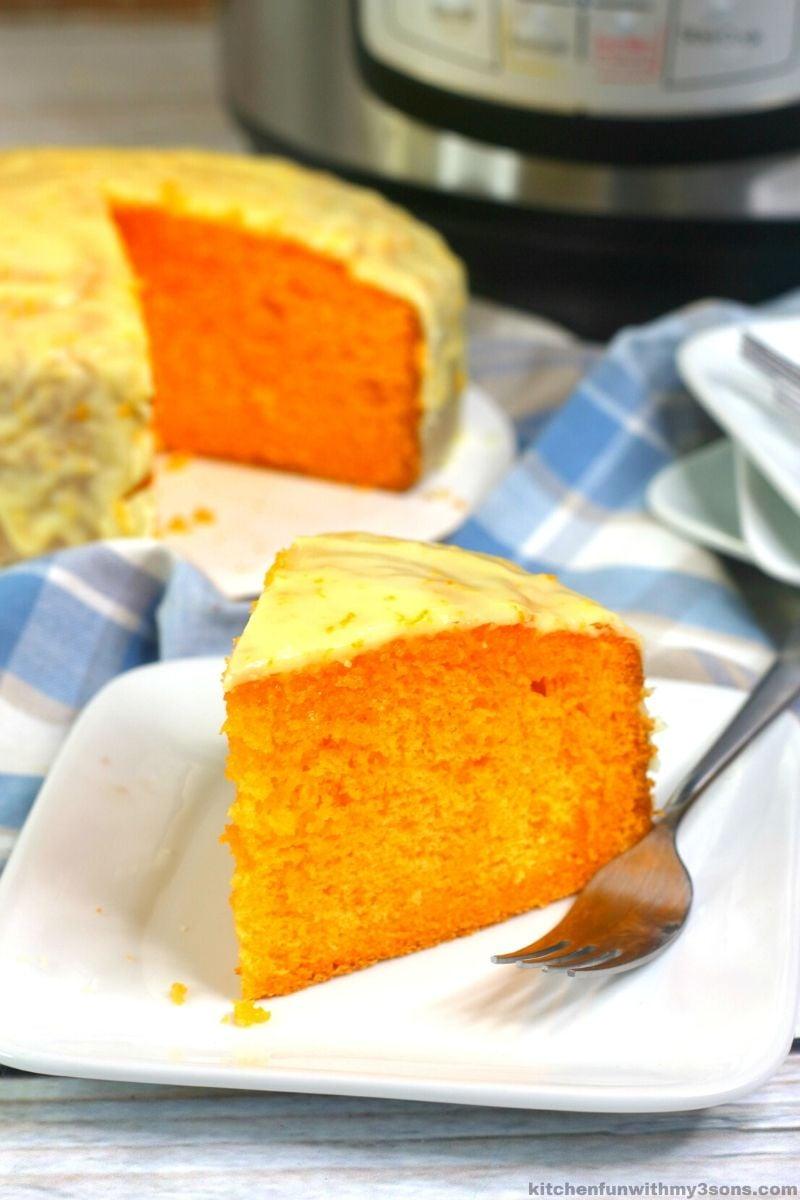 Instant Pot Orange Cake Recipe