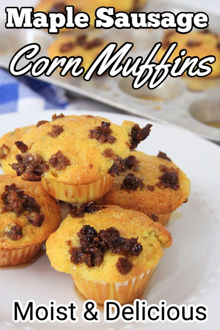 Maple Sausage Corn Muffins