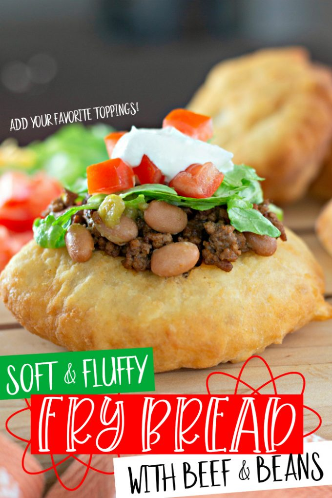 Soft and Fluffy Fry Bread Tacos on Pinterest