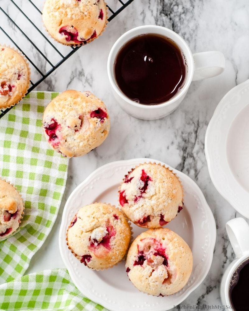 cranberry lemon muffin
