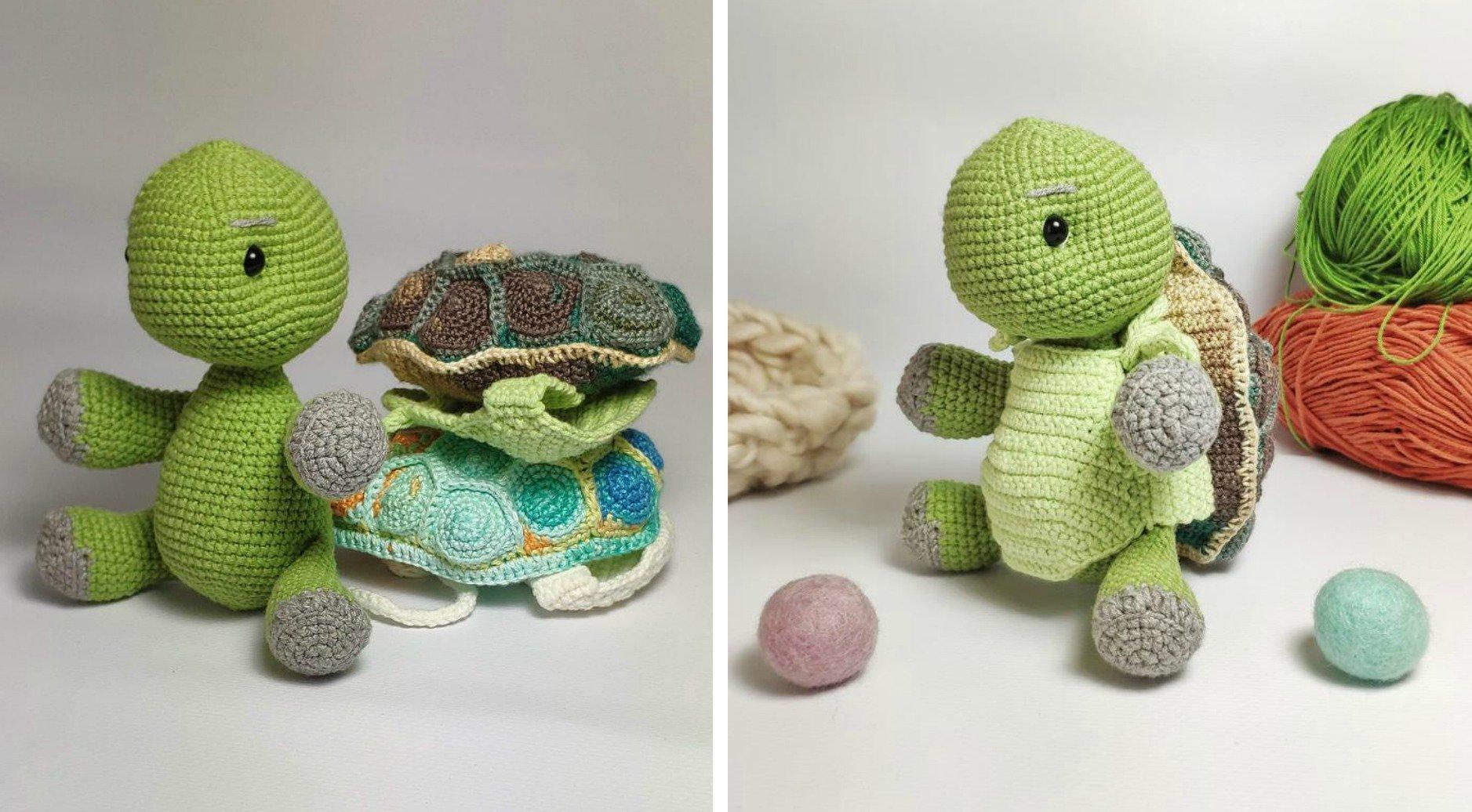 Shelby the Turtle: Free Crochet Amigurumi Pattern | | 1036x1877
