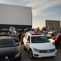 Restaurants Now Turning Into Drive-In Movie Theaters