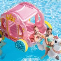 Inflatable Princess Carriage Float