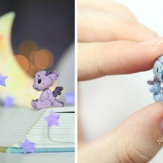 Mini Crochet Dragons