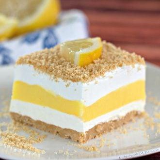 No-Bake Lemon Lasagna