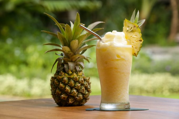 Pineapple Dole Whip Cocktail