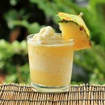 Boozy Dole Whip with Rum