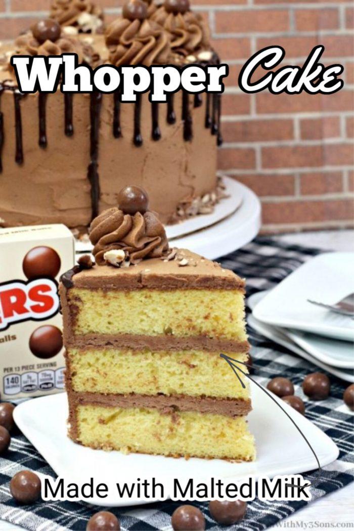 whopper cake for pinterest