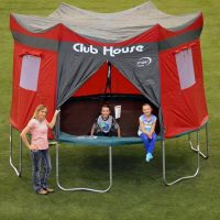 Make Your Trampoline a Clubhouse with This Cover