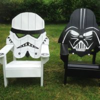 Get Some Star Wars Inspired Adirondack Chairs