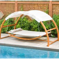 Dreamy Hanging Poolside Leisure Bed