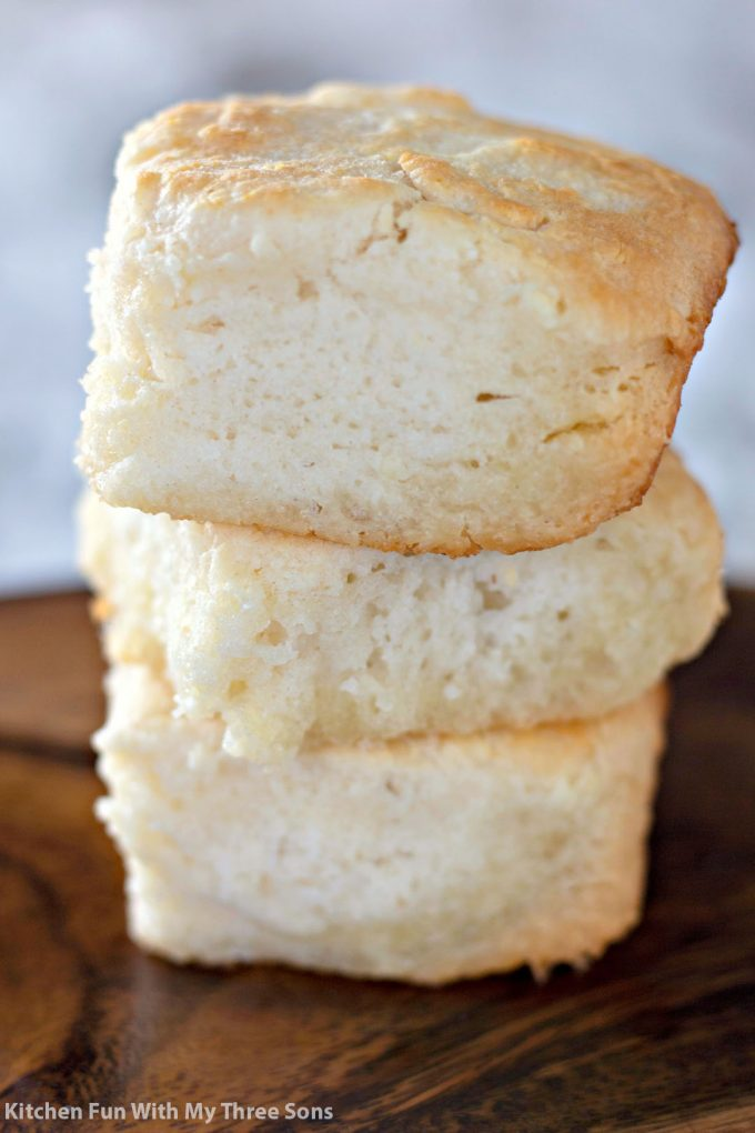 a stack of 7 Up Biscuits Recipe