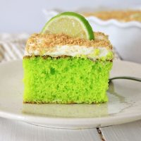 Easy Homemade Key Lime Cake