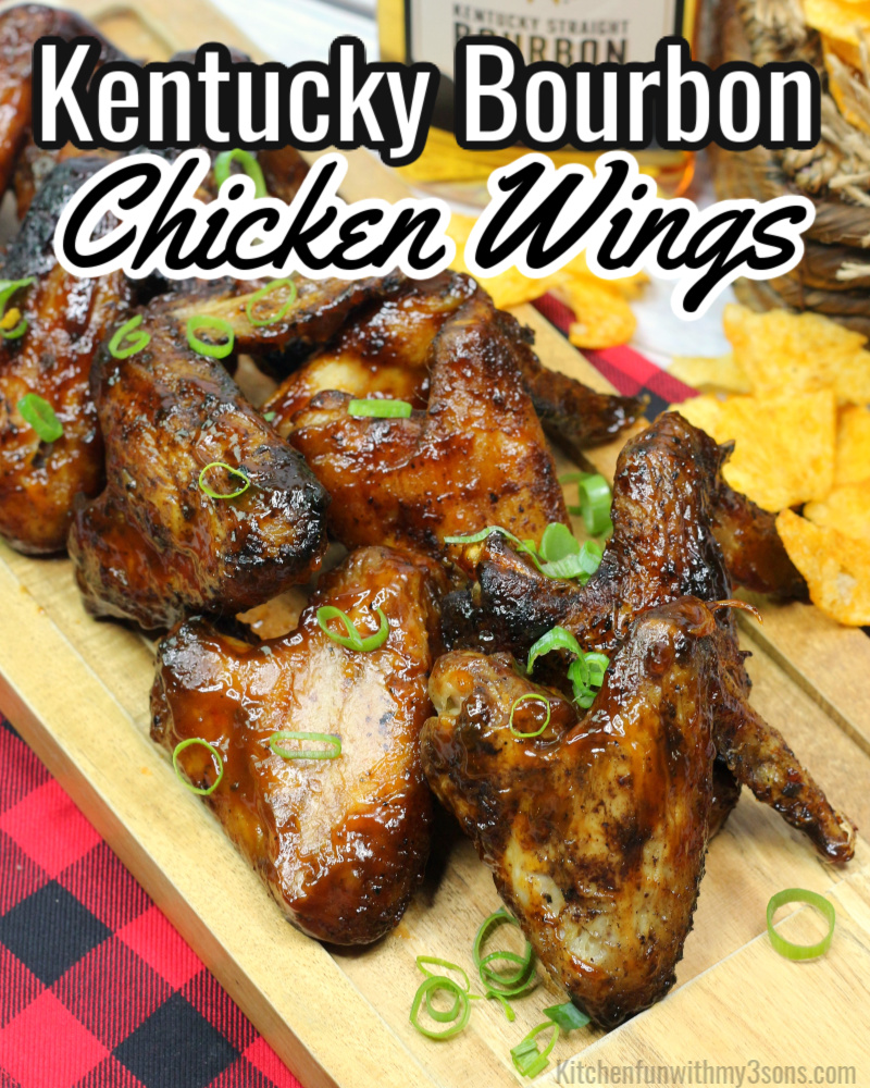 Kentucky Bourbon Chicken Wings