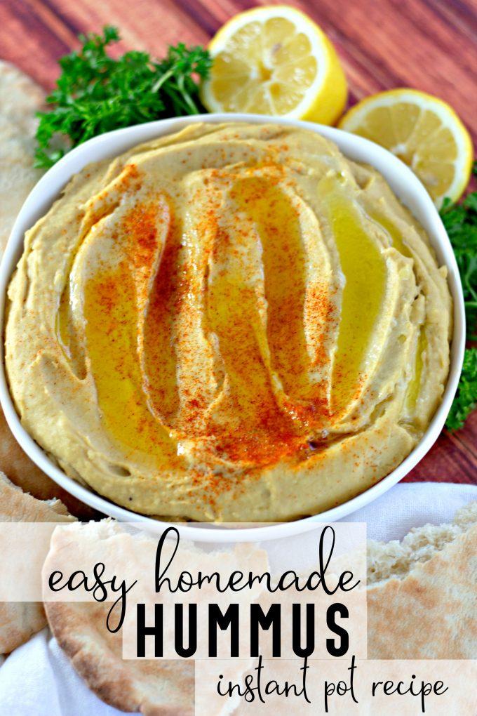 Instant Pot Hummus Recipe on Pinterest