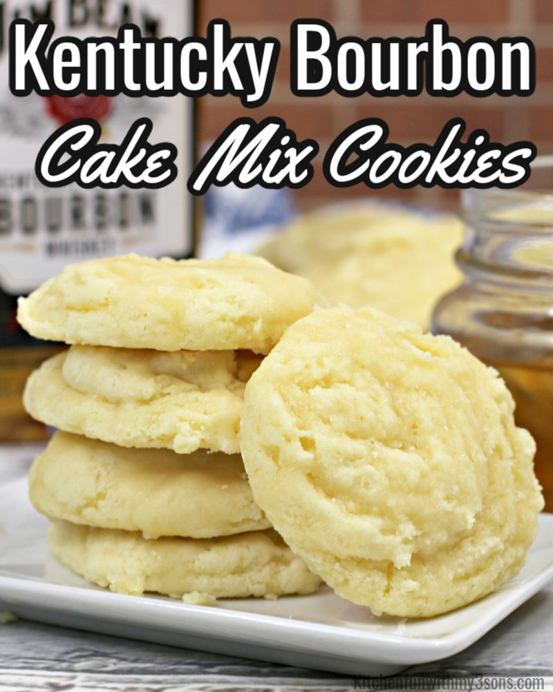 kentucky bournon cake mix cookies