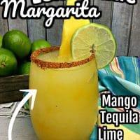 Lemonade Mango Margarita