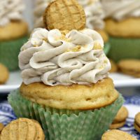 Peanut Butter Banana Cupcakes Recipe