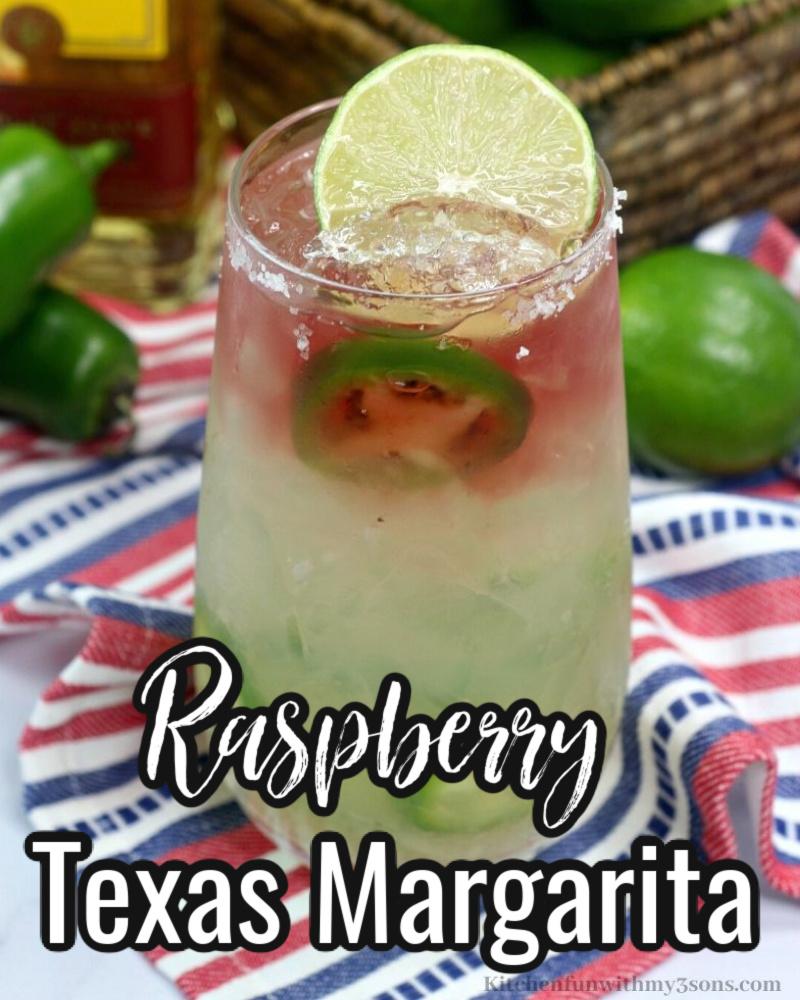 Raspberry Texas Margarita