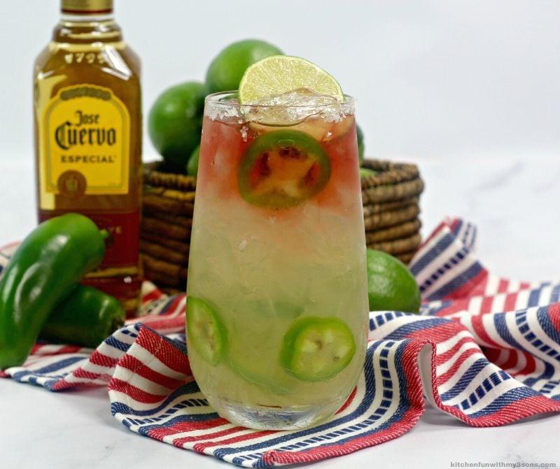 Raspberry Texas Margarita (2)