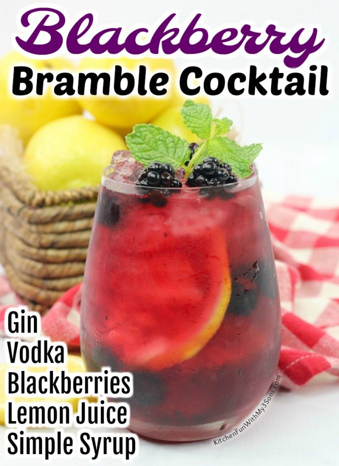 Blackberry Bramble Cocktail